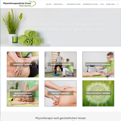 Physiotherapie Paul Herzen,Bietigheim-Bissingen