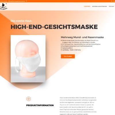 Mehrweg Gesichtsmasken - Online-Shop (Woocommerce), Reutlingen
