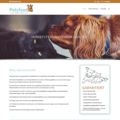Petyfood - natürliches Hundefutter, Bietigheim-Bissingen. Woocommerce-Shop