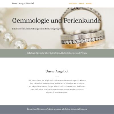 Gemmologie und Perlenkunde Strobel, Salzburg