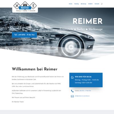 REIMER - Ersatzteile, Reifen, Werkzeuge