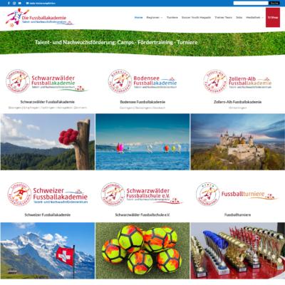 Die Fussballakademie | Talent- und Nachwuchsförderung: Camps - Fördertraining - Turniere