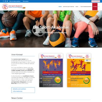 Die Sport-Akademie | Ballsport- und Nachwuchsförderung