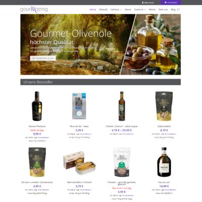 gourmazing.de - Gourmet-Produkte aus Spanien | Programmierung Woocommerce Shop